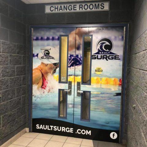 Sault Surge Door Wrap