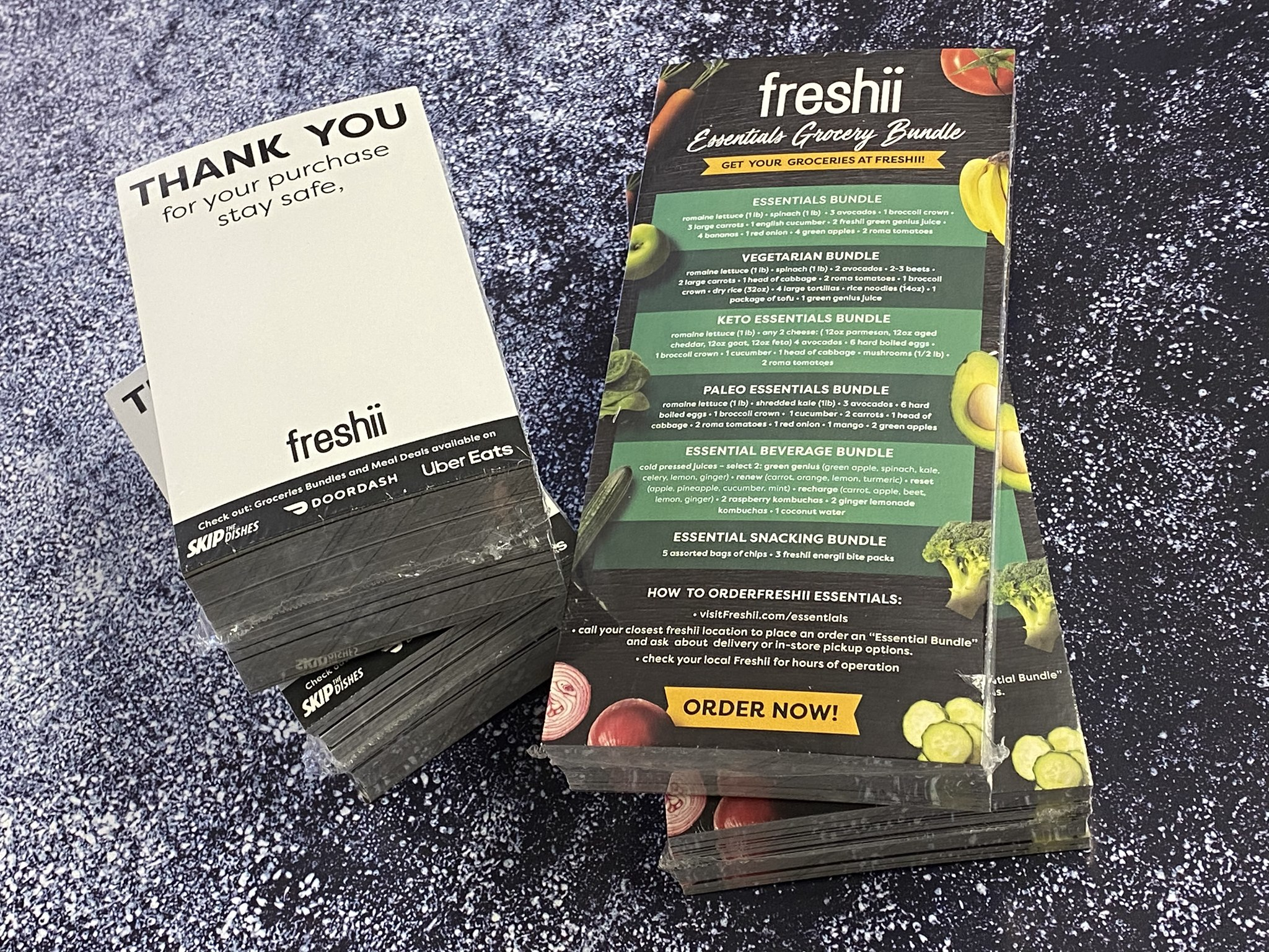 Freshii Grocery Cards